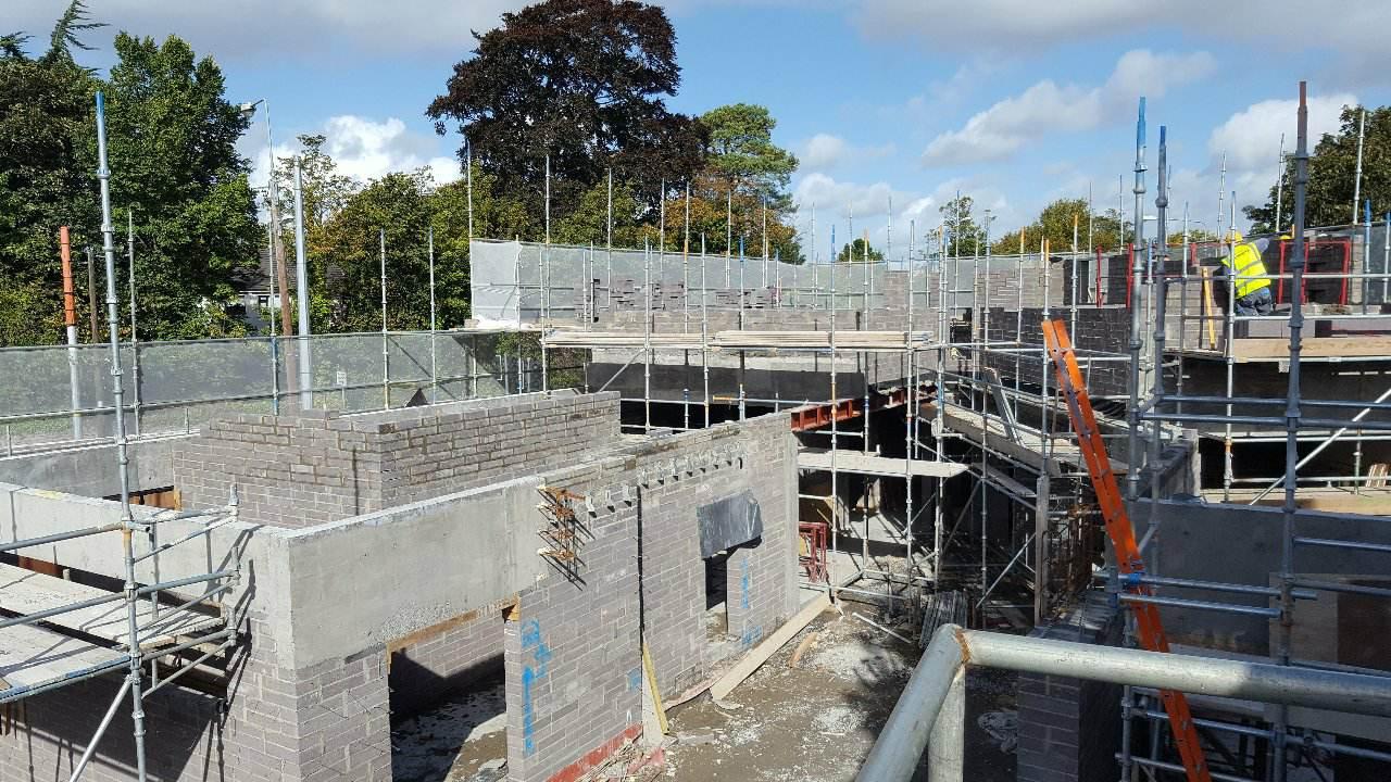 Ccommercial Flanagan funeral home Rathfarnham M&P Construction 1
