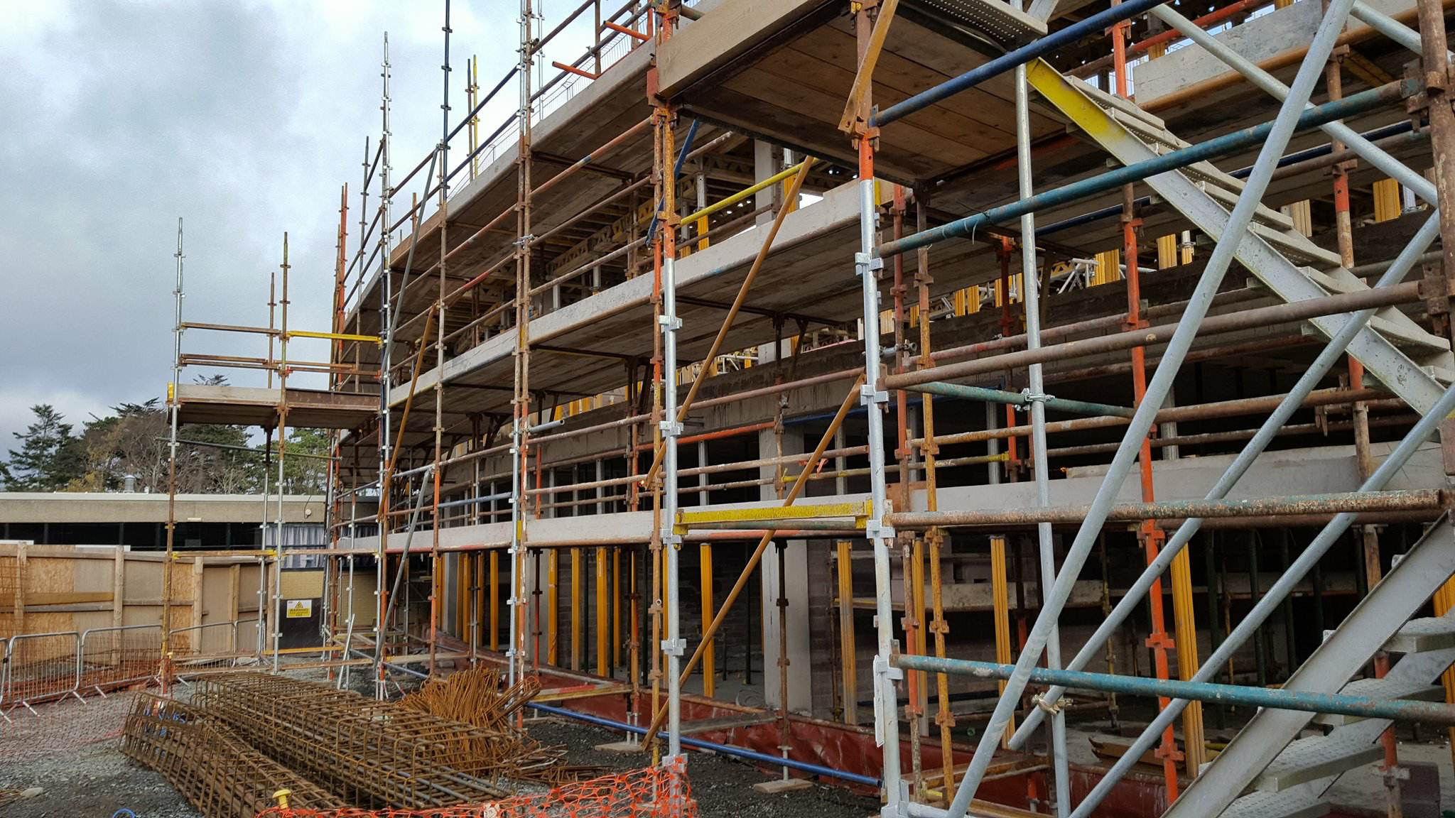 Wesley college dundrum stewart construction job education